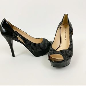 Marc Fisher Platform Peep Toe Pumps 9.5M